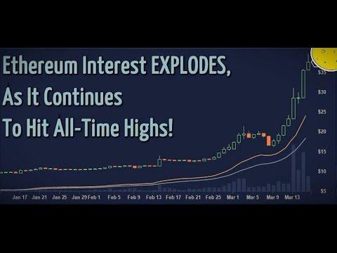 ethereum volumes explodes